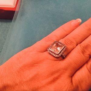 Jewelry - New Engagement Ring 7 Carat Zirconium 925 Silver